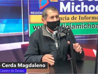 En pagos rezagados del predial, aplican descuentos especiales: Lauro Cerda Magdaleno