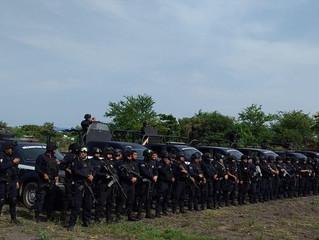 Despliegue operativo, en zona rural y urbana de Tepalcatepec