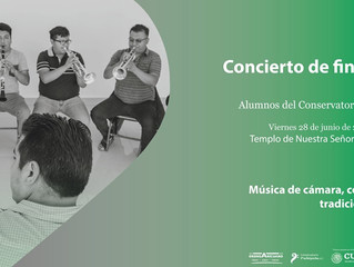 El Alcalde Adrián Melgoza invita a disfrutar del Concierto de Música de Cámara con Repertorio Tradic
