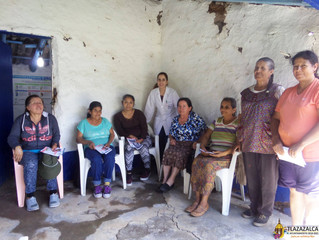 Continua Ayuntamiento de Tlazazalca con pláticas sobre la autoexploración y la detección temprana de