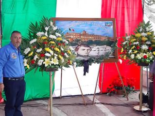 Se conmemoro el CLXXII aniversario de la gesta heroica de los Niños Héroes en Jiménez