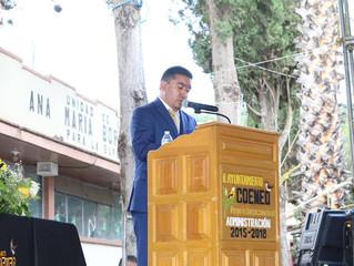 Alcalde José Luis Vega Torres rinde su Tercer Informe ante los ciudadanos de Coeneo