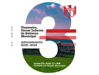 El Presidente Municipal Javier Andrade Mata y el H. Ayuntamiento de Tlazazalca Invitan A su 3er. Inf
