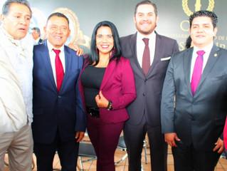 Participa Wilma Zavala en homenaje a los Oficiales Mártires de Uruapan
