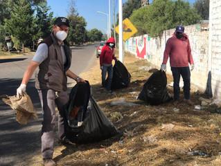 Ayuntamiento Morelos Realiza Jornadas de Limpieza