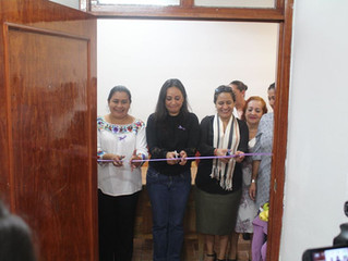 La Alcaldesa Belinda Iturbide inauguró la Puerta Violeta en Puruándiro