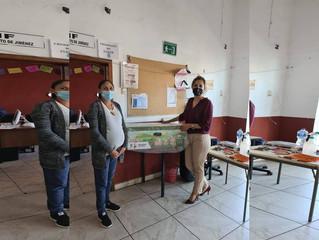 Ayuntamiento de Jiménez Hizo Entrega de Cunas para Recién Nacidos y Mujeres Embarazadas