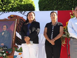 Se conmemora el CLVIII Aniversario Luctuoso de Melchor Ocampo en Puruándiro