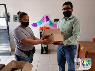 DIF Zacapu continúa con la Entrega del Programa Atención Alimentaria Infantiles