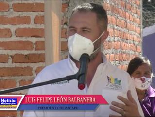 Luis Felipe León preocupado por aumento de contagios por COVID-19 en Zacapu
