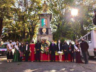 Ayuntamiento de Morelos Llevo a Cabo el Acto Cívico del CCLV Aniversario de José María Morelos