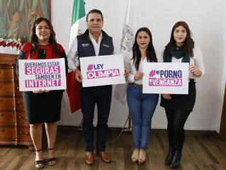 Impulsa Gobernador iniciativa de Ley Olimpia en Michoacán