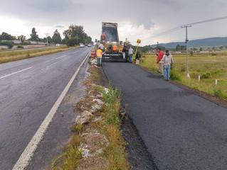 Ciclovía Morelia-Pátzcuaro, al 75% de avance en su segunda etapa
