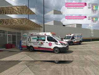 DIF Zacapu Sigue Apoyando,  Vigilando y  dando Seguimiento a Traslados pacientes Infectados por COVI