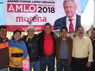Gonzalo Herrera Visita Chupicuaro y así cumple un compromiso de campaña de regresar