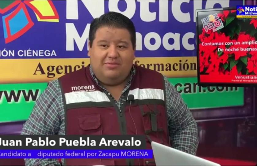 Se concluyó con éxito la 5ta semana de campaña de Juan Pablo Puebla