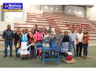 Acciones realizadas por el SDIF Erongarícuaro y Proyectos Productivos realizados este año