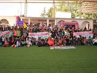 El Alcalde Adrián Melgoza inauguró la Cancha de FútbolRápido Portátil en Nocutzepo