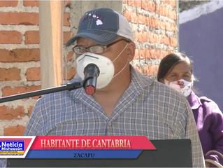 Habitante de Cantabria agradece a Luis Felipe León por el apoyo a la comunidad