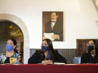 Presentan agenda para garantizar la participación igualitaria de las mujeres en política