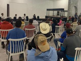 Oportuna, intervención del Gobierno de Michoacán en Zitácuaro: Mesa de Coordinación