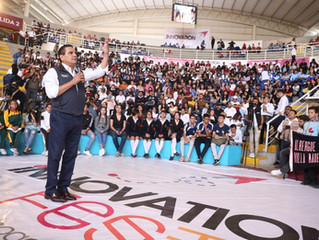Conectan ciencia e innovación fuerza de jóvenes con la construcción del futuro: Silvano