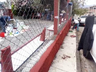 Ayuntamiento de Erongarícuaro llevo a cabo el programa Pinta Tu Comunidad en Napizaro