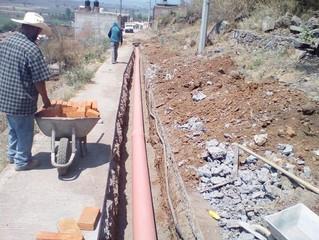 Se logra un avance del 80% en la ampliación del drenaje en Jiménez