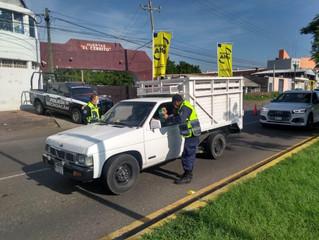 Ante Bandera Amarilla, continúan acciones preventivas contra COVID-19 en Zamora: SSP