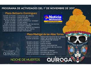 Tendrá municipio de Quiroga concurso de altares con motivo del día de muertos