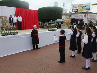 Conmemoran en Puruándiro natalicio de José María Morelos y Pavón