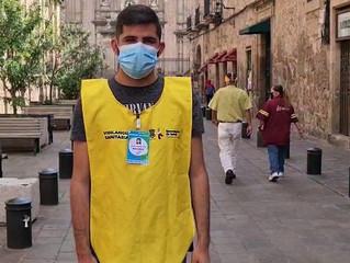 En hospitales, pero también en las calles, se combate al COVID-19 en Michoacán