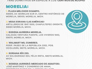 Amplía Gobierno del Estado los centros de acopio en apoyo a damnificados de Tabasco