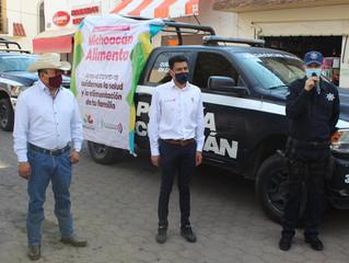 Avanza entrega de Michoacán Alimenta en la Región La Piedad