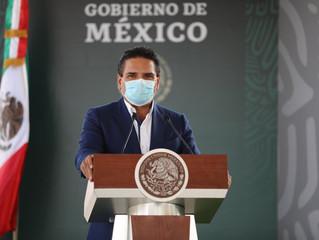 Titánica, labor coordinada en salud y seguridad en Michoacán: Silvano Aureoles