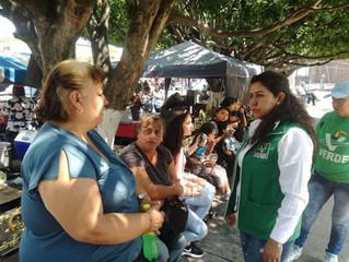 Piso parejo para hombres y mujeres propone Luz María Ramírez.