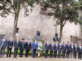 Rememoran herencia patriótica de Morelos en Bando Solemne