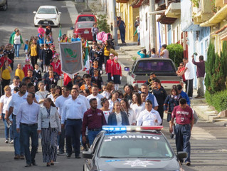 Se realizo acto conmemorativo en Honor a los Niños Héroes en Panindícuaro