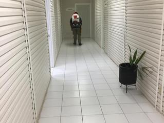 Refuerza SSP labores contra COVID-19 en cuarteles de la Policía Michoacán