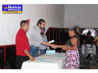 Obras municipales de este año y actividades deportivas del municipio de Erongarícuaro