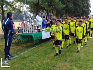 Inició la liga de fútbol infantil, juvenil y libre del Seguro Social