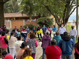Con paso firme continua la campaña de Luis.  Los ciudadanos siguen sumándose al proyecto ganador