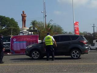Lázaro Cárdenas, municipio con aislamiento intermitente; tiene Bandera Roja