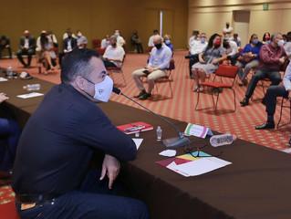 Llama Carlos Herrera a tomar previsiones ante COVID-19 en las actividades de la administración públi