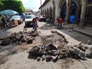 Ayuntamiento de Morelos Continua con el Mantenimiento en Calles y Carreteras