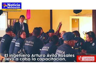 Capacitan a cuerpo de Seguridad Publica de Tlazazalca en temas de Derechos Humanos