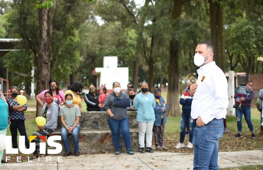 Vecinos de la comunidad de Jauja le muestran su apoyo y cariño al Candidato Luis Felipe (PRD-PRI)