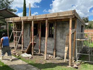 Ayuntamiento de Jiménez Continua con la Construcción del Comedor en el Preescolar San francisco Escu