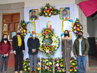 Ayuntamiento de Morelos Rindio Homenaje al CVXXIII Aniversario