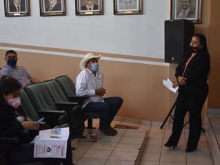 Presidenta Belinda Iturbide Realiza Reunión con Servidores Públicos